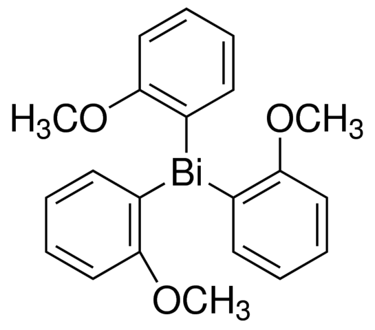 Tris(2-metoxyphenyl)bismuthine Chemical Structure